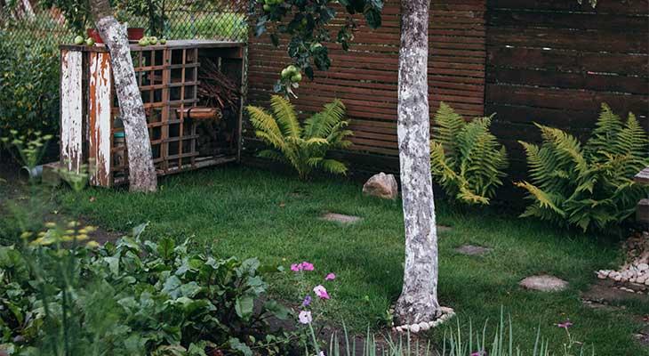 Arcón Trenzado Ratan Jardin Guarda Cojines